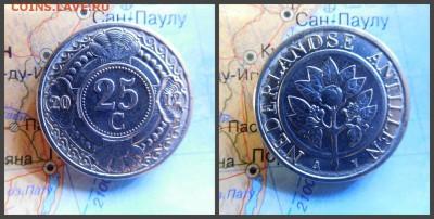 Нидерландские Антильские острова 25 центов, 2012 - 16