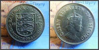 Джерси ¼ шиллинга, 1957 - 20