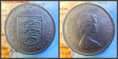 Джерси 10 новых пенсов, 1980 - 22