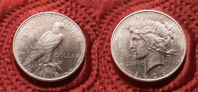 США. 1 доллар 1926 г. Peace. До 21.03.19. - 20190315_204409