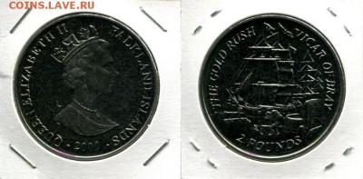 Фолкленды 2Ф 2000 парусник Викарий до 22.03.19 22-00 мск - Falkland 2P 2000 VofB