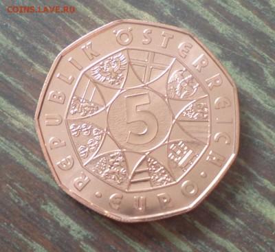 АВСТРИЯ - 5 евро ЗАЯЦ до 26.03, 22.00 - Австрия 5 е медь Заяц_1