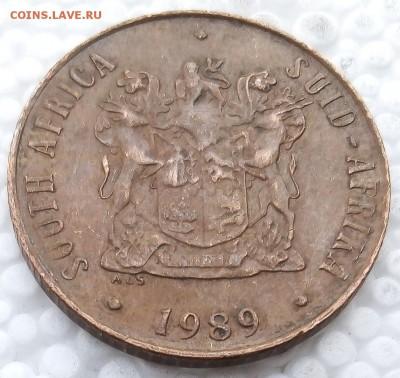 ЮАР 2 цента 1989 до 31.03.19 - 6