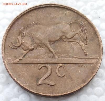 ЮАР 2 цента 1989 до 31.03.19 - 5