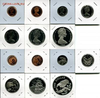 Н.Зеландия набор 1984 пруф до 31.03.19 22-00 мск - NZ set 1984