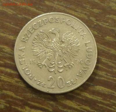 ПОЛЬША - 20зл НОВОТКО до 7.04, 22.00 - Польша 20 зл 1974 Новотко_1