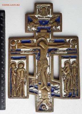 Крест киотный эмаль до 09-04-2019 до 22-00 по Москве - Крест А