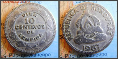 Гондурас 10 сентаво, 1967 - 8