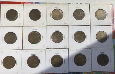 Подборка 5 копеек до 1961 г., 20-е, 30-е, 40-е, 50-е. 19 шт - 7F4A7342-7515-421D-8034-F7BF0805A1A5
