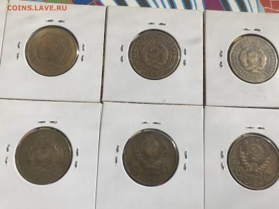 Подборка 5 копеек до 1961 г., 20-е, 30-е, 40-е, 50-е. 19 шт - AB00D578-89C0-4B87-A7F1-20A2D0390707