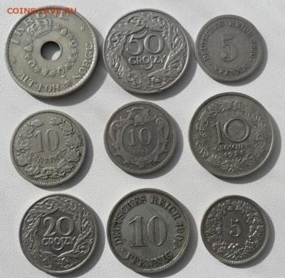 Монеты старой Европы 1890-1925 -9 штук - SAM_6831.JPG