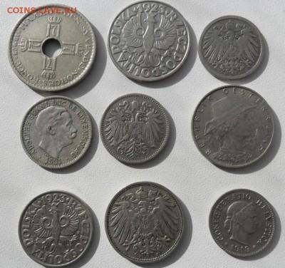 Монеты старой Европы 1890-1925 -9 штук - SAM_6832.JPG