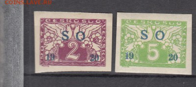 Чехословакия 1920 2м * надпечатка до 20 04 - 113