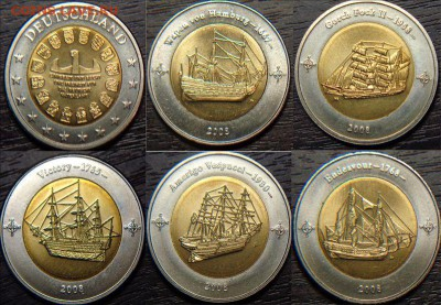 Монеты с Корабликами - ж