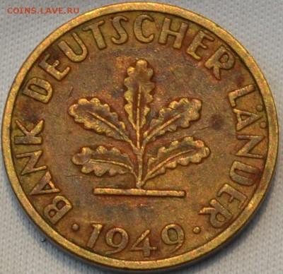 Германия 5 пфенниг 1949. 21. 04. 2019. в 22 - 00. - DSC_0333