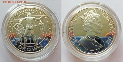 "Гибралтар крона 1991 ""Барселона"" - барселона1"