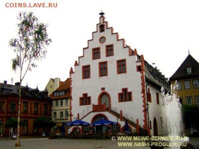 Частные выпуски нотгельдов Германии. Обзорная тема. - Ратуша , построенная в 1422 году.