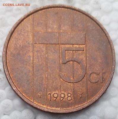 Нидерланды 5 центов 1998 до 21.05.19 - 7