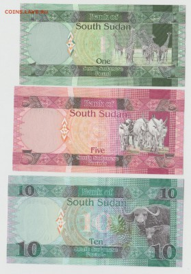 Южный Судан 1, 5,10 50 фунтов 11-17г UNC Фикс до 18.05 22:10 - IMG_20190214_0001