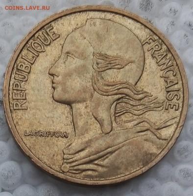 Франция 5 сантимов 1985 до 21.05.19 - 16