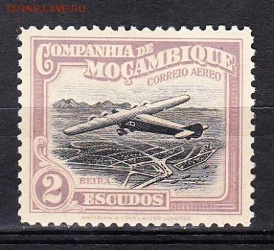 Колонии Мозамбик 1937 1м 2э** до 21 05 - 3