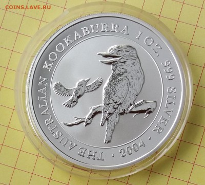 АВСТРАЛИЯ - 1$ КУКАБАРРА 2004 до 22.05.19, 22.00 - 20190301_135022