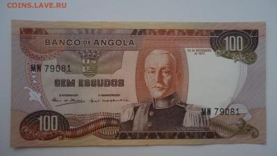 АНГОЛА 100 ЭСКУДО 1972 UNC - DSC05520.JPG