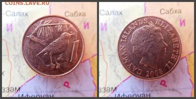 Каймановы острова 1 цент, 2008 - 16
