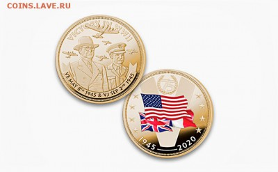 В США выпустили монету с союзниками во Второй мировой войне - сша