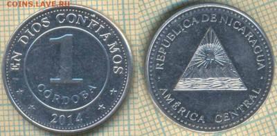 Никарагуа 1 кордоба 2014 г., до 29.05.2019 г. 22.00 по Москв - Никарагуа 1 кордоба 2014  6070
