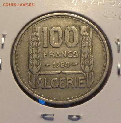 ФРАНЦУЗСКИЙ АЛЖИР - 100 фр. 1950 холдер до 2.06, 22.00 - Алжир 10 франков_1.JPG