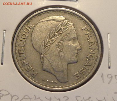 ФРАНЦУЗСКИЙ АЛЖИР - 100 фр. 1950 холдер до 2.06, 22.00 - Алжир 10 франков_2.JPG