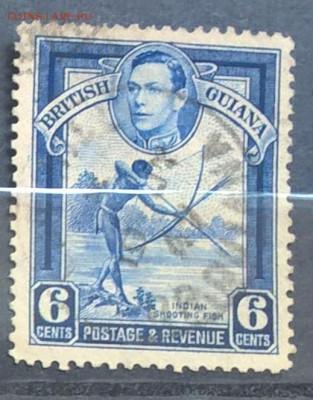 Колонии Британская Гвиана 1938 1м 6ц до 31 05 - Копия 510