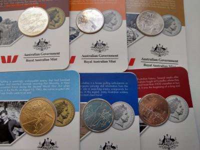 """Австралия 25 и 20 центов """"От АНЗАК до Афганистана"""" ФИКС - IMAG1770"""