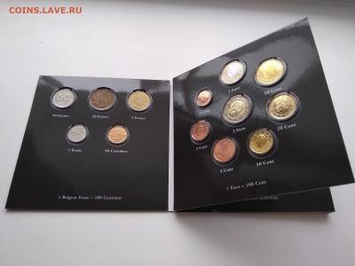 Бельгия-набор Евро и набор разменных монет до зоны Евро - IMG_20190318_151637