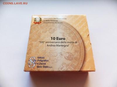 """Италия 10 евро 2006 """"Андреа Мантенья"""" - 2006-2"""