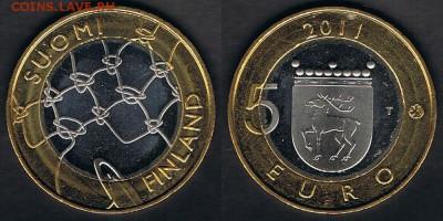 "Финляндия 5 евро 2011 ""Аландские о-ва"" 15.06.19 22:00 - Finland_KM#177_09062019"