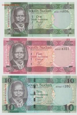 Южный Судан 1, 5,10 50 фунтов 11-17г UNC Фикс до 15.06 22:10 - IMG_20190214_0002