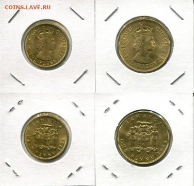 Ямайка полпенни и пенни 1964 до 16.06.19 22-00 мск - Jamaica 1964