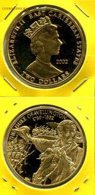 Восточные Карибы 2$ 2002 Велингтон до 16.06.19 22-00 мск - ECS-2$ Vellington