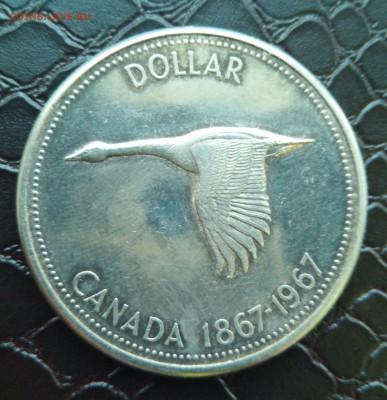 Канада 1 доллар, 1967 г.до 17.06.2019 в 22.00 - IMG_20190611_194915-crop