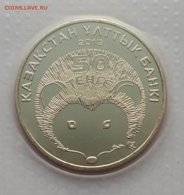 50 тенге 2013 Казахстан Ёж (запайка)до 20.06.19 в 22.00мск - 20190501_101710-1083x1148