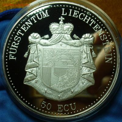 Пруфы 25 долларов 1987,50 Экю 1995,MWK 2010 - P1510700.JPG