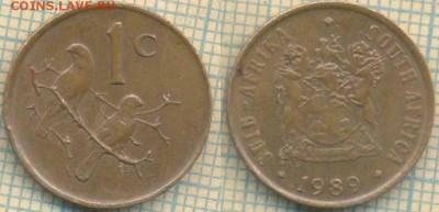 ЮАР 1 цент 1989 г. , до 26.06.2019 г. 22.00 по Москве - ЮАР 1 цент 1989  6182