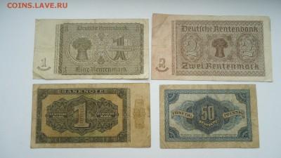 НАБОР БАНКНОТ ГЕРМАНИИ 1937-1948 - DSC05386.JPG