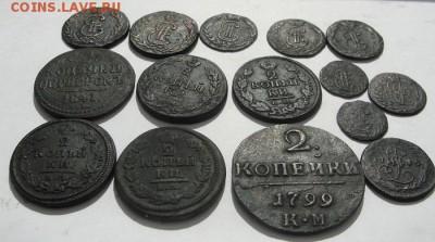 """двадцать одна медная монета, (""""копанина"""",окрестности Томска) - 2"""