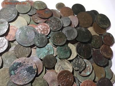 солянка медных нечищеных монет 250шт - IMG_1668