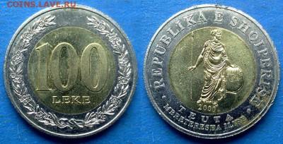 Албания - 100 леков 2000 года (БИМ) до 24.07 - Албания 100 леков 2000