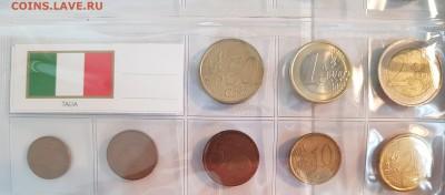 Подборка евро по типам (страны), 6 юбилейных - 20190728_070618