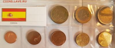 Подборка евро по типам (страны), 6 юбилейных - 20190728_070644